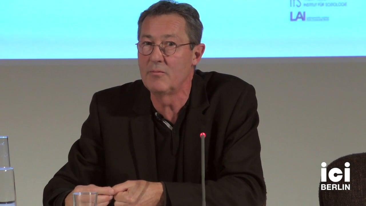 Talk by Antoine Hennion