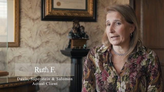 Ruth F. | Client Testimonial