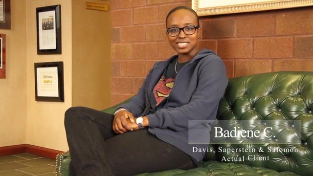 Badiene C. | Client Testimonial