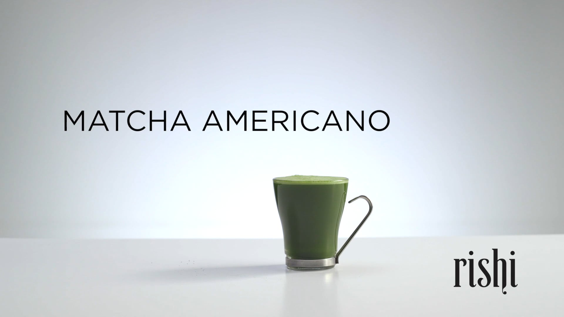 Rishi Tea - How To Brew Matcha Americano