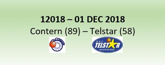 N2H 12018 AB Contern (89) - Telstar Hesperange (58) 01/12/2018