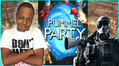 Popping People In Rainbow Six & Pummel Party!