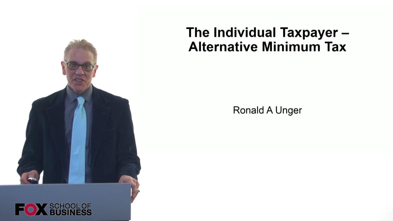 61207The Individual Taxpayer – Alternative Minimum Tax
