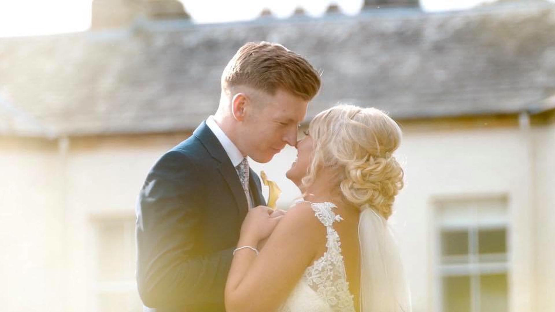 Kayleigh and Brian - Lartington Hall