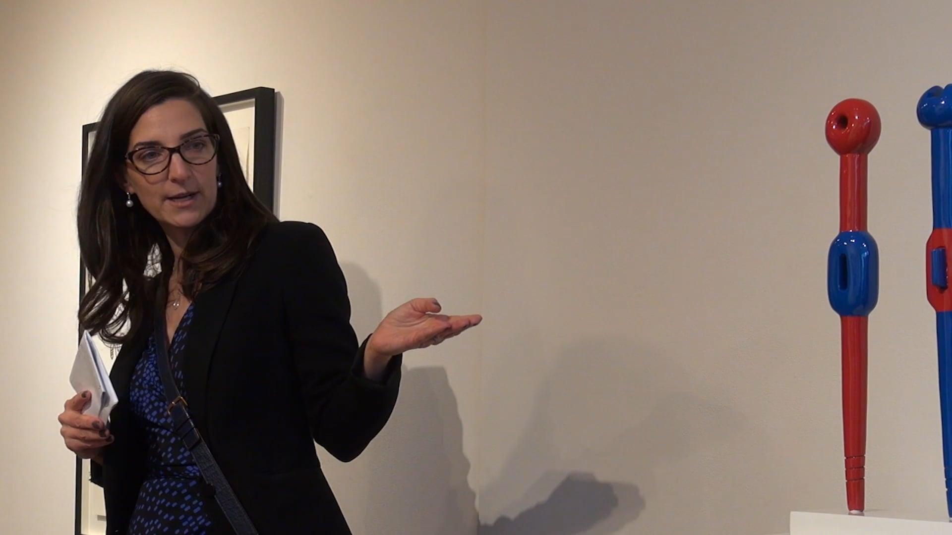 BEC Lecture Series - Dr. Alma Mikulinsky on Sorel Etrog