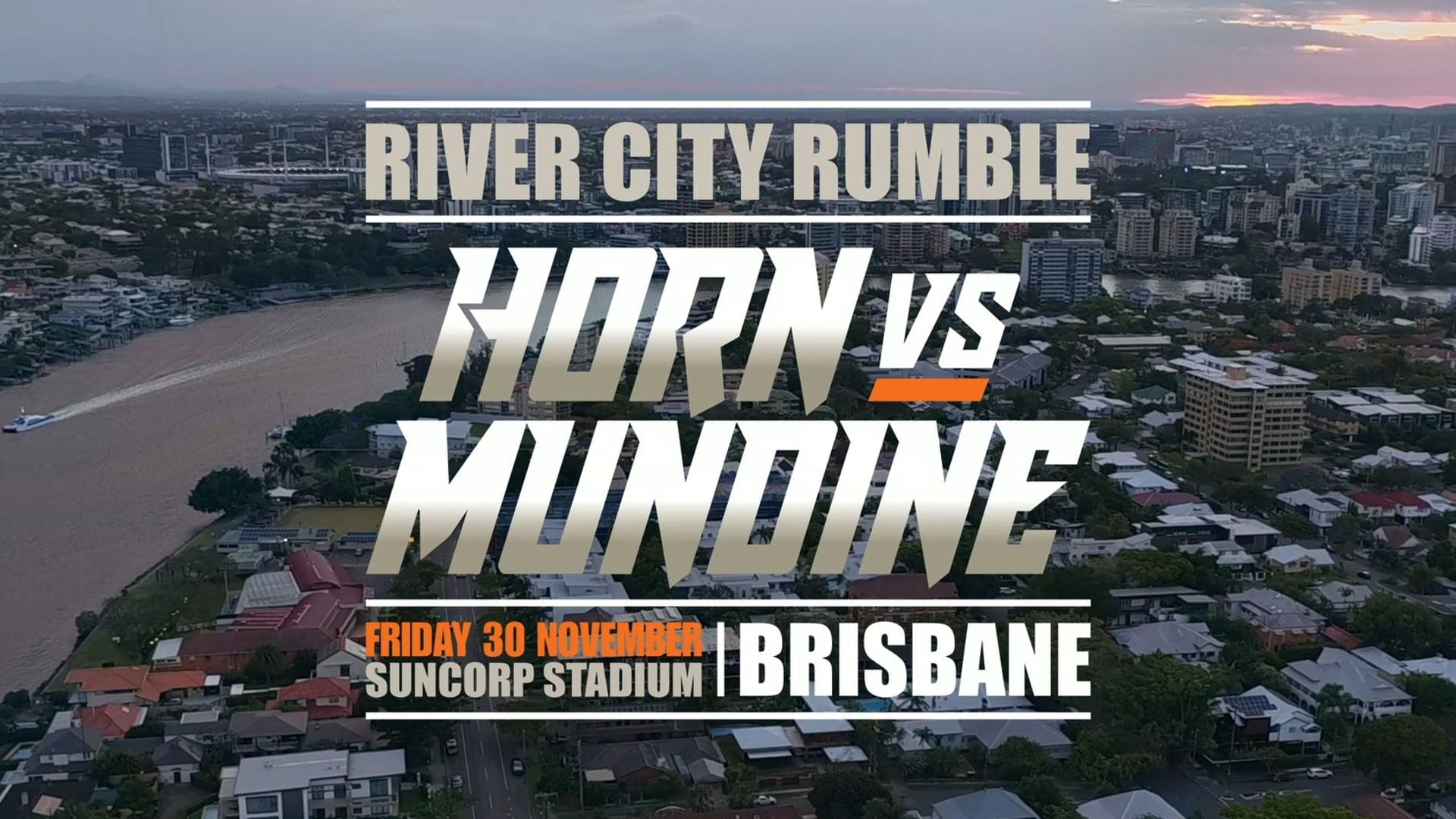 Anthony MUNDINE - HORN vs MUNDINE - TVC