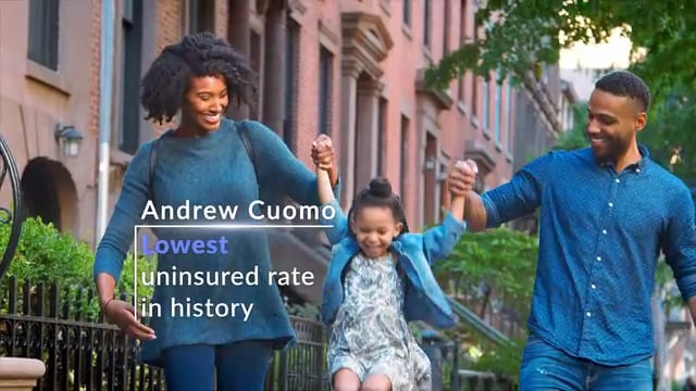 """Andrew Cuomo 2018 - Re-Election Campaign for Governor - """"Opportunity for All"""""""