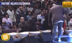 Local Pastor Gives Permission to Take From the Offering Plate