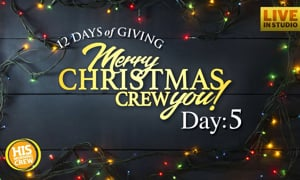 Merry Christmas CREW You! Here's Our Day 5 Winner