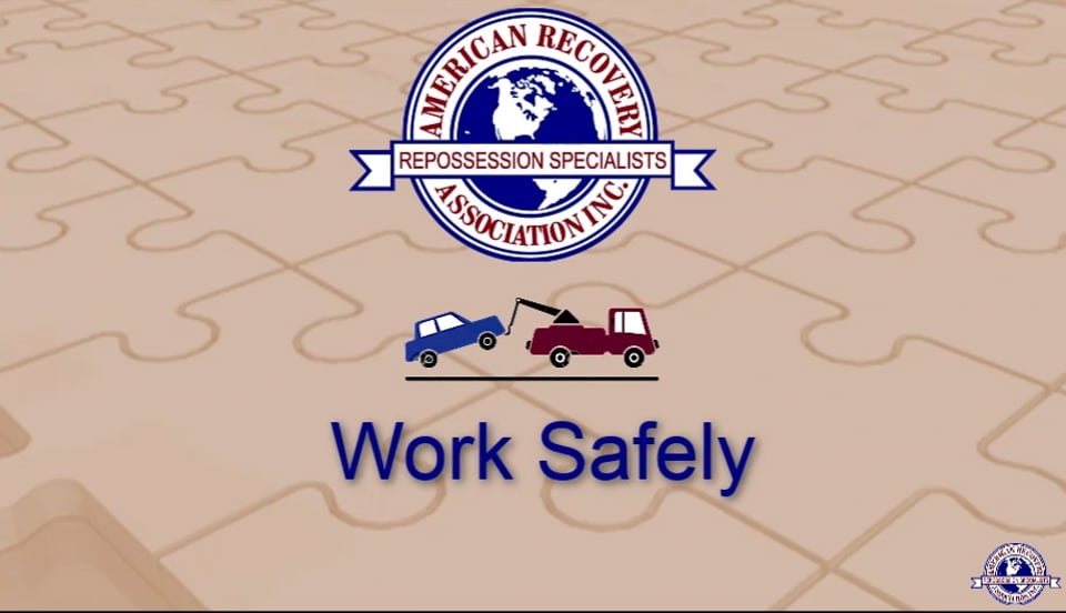 ARA Field Agent -Safety and Security - Page 7 - Work Safely