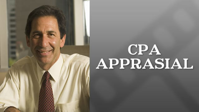 If a CPA can appraise a l…