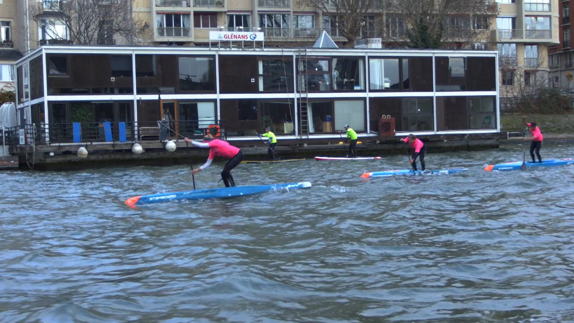 Paris Sup Crossing - Paris Sup Open Day 2 Distance Race 2018