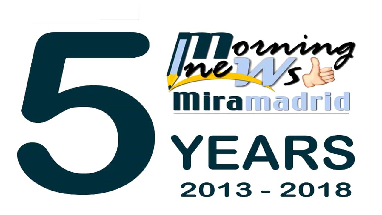 Miramadrid Morning News, December 10th 2018
