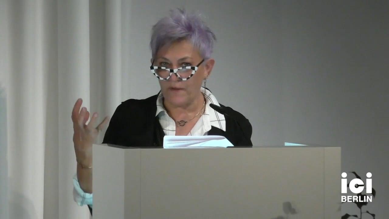 Talk by Meyda Yeğenoğlu