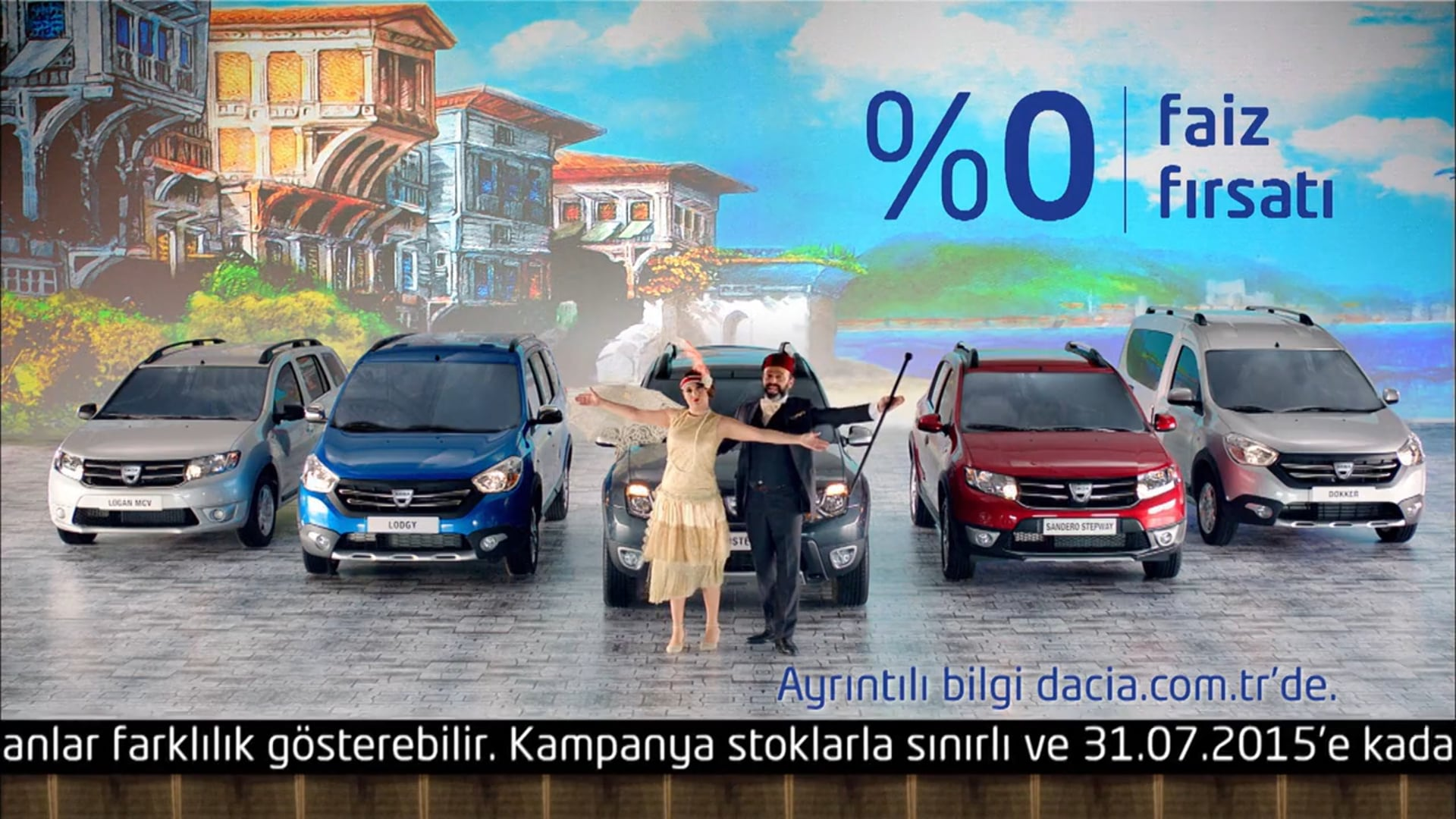 Ezel Akay-Dacia Kanto Ramazan Kampanyası TVC