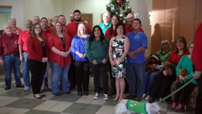 Christmas Greeting / Inspection Services and Animal Shelter