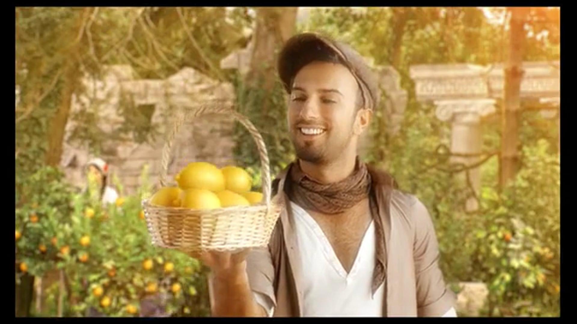 Ezel Akay- Tarkan Lemon TVC
