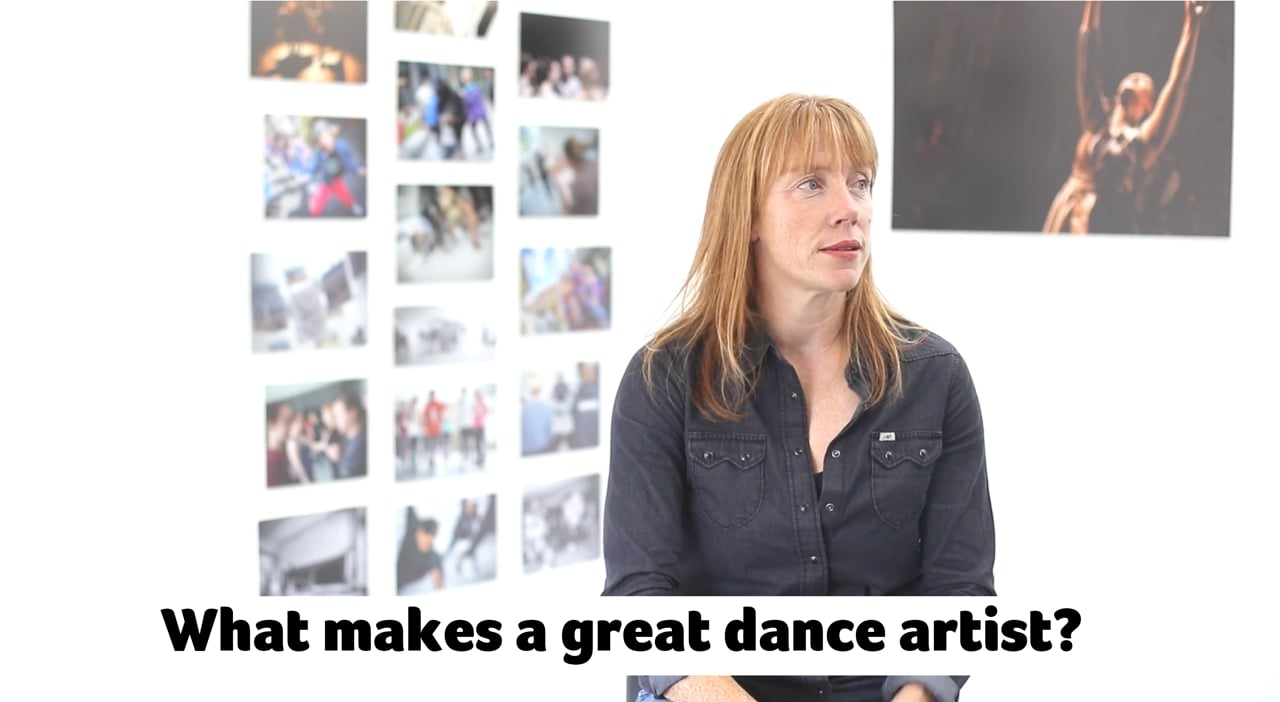 What makes a great dance artist?