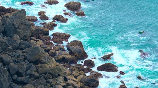 Coastal Oregon. Pacific Ocean. Part 1 - 4K HDR