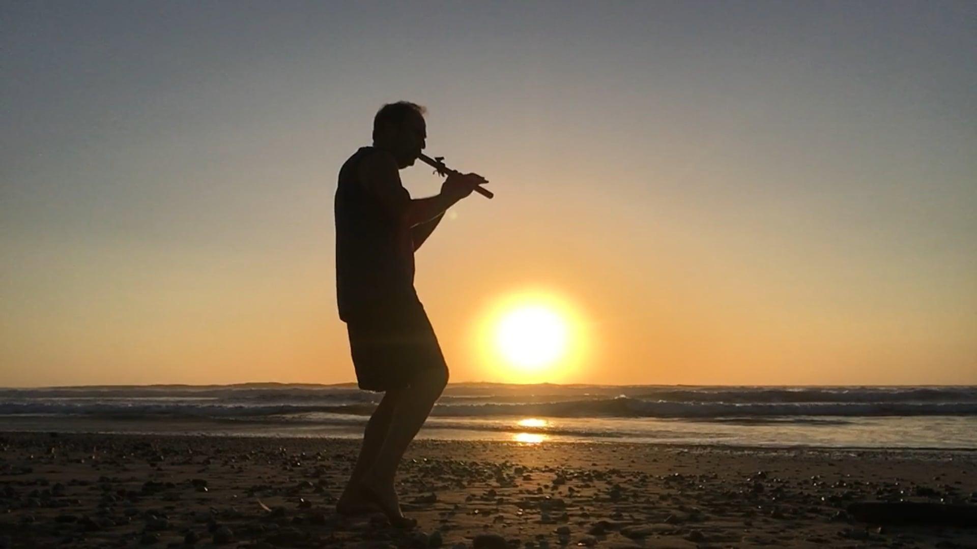"""Garza Sunset"" music by James Marienthal"