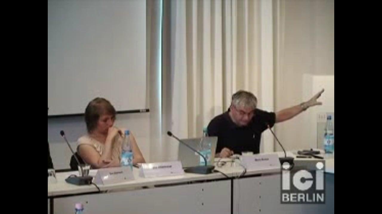 Talk by Boris Buden / 2