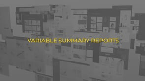 Variable Summary Reports