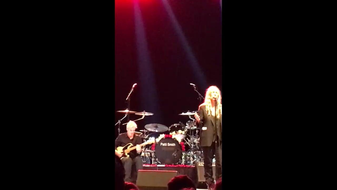 Videopoem - Patti Speaks NYC