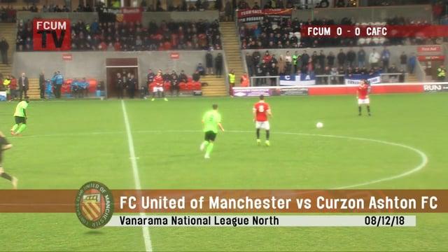 FCUM vs Curzon Ashton - 08/12/18 - Highlights