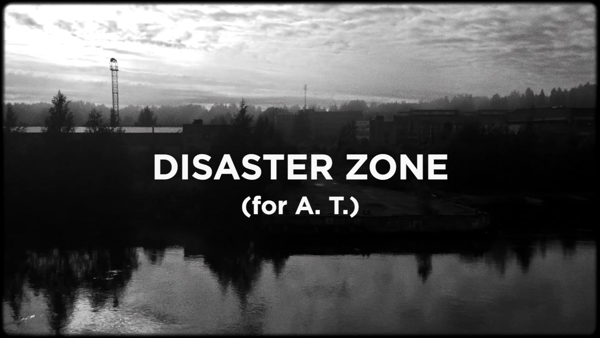DISASTER ZONE / TRAILER
