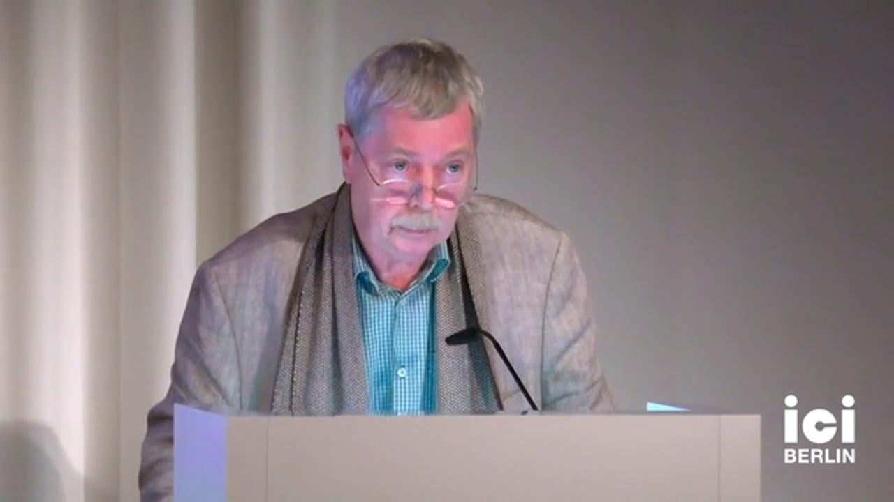 Vortrag Hans-Jörg Rheinberger