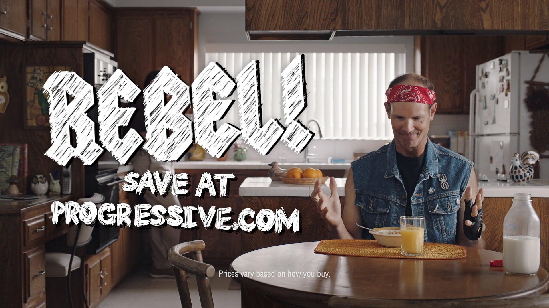 Rebel - Progressive Insurance