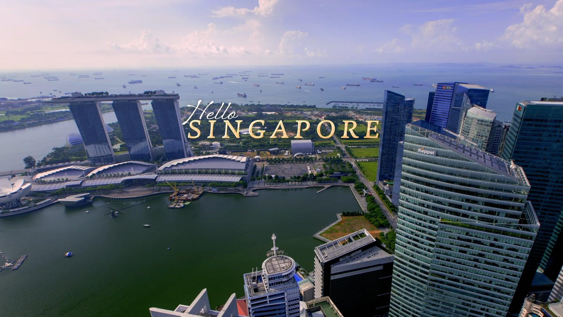 Hello Singapore   Time-Lapse Flow Motion - 4K