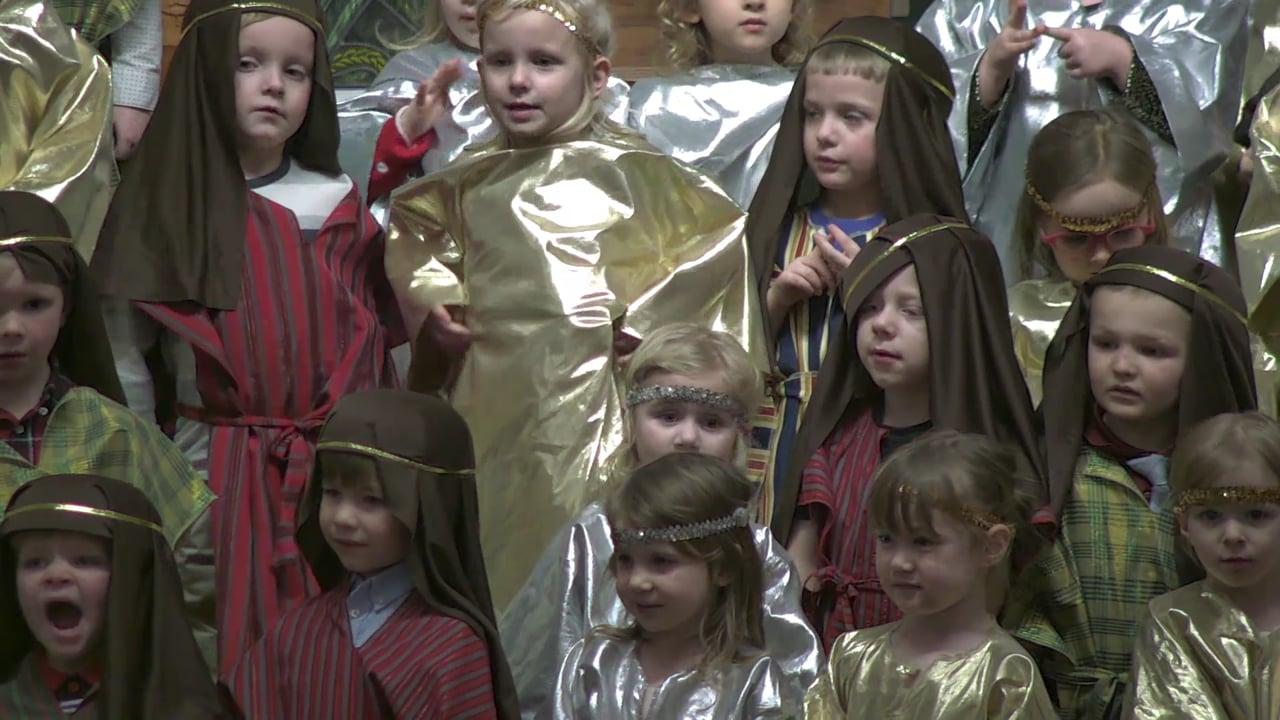 Jesus' Lambs Preschool Christmas Program December 14, 2018