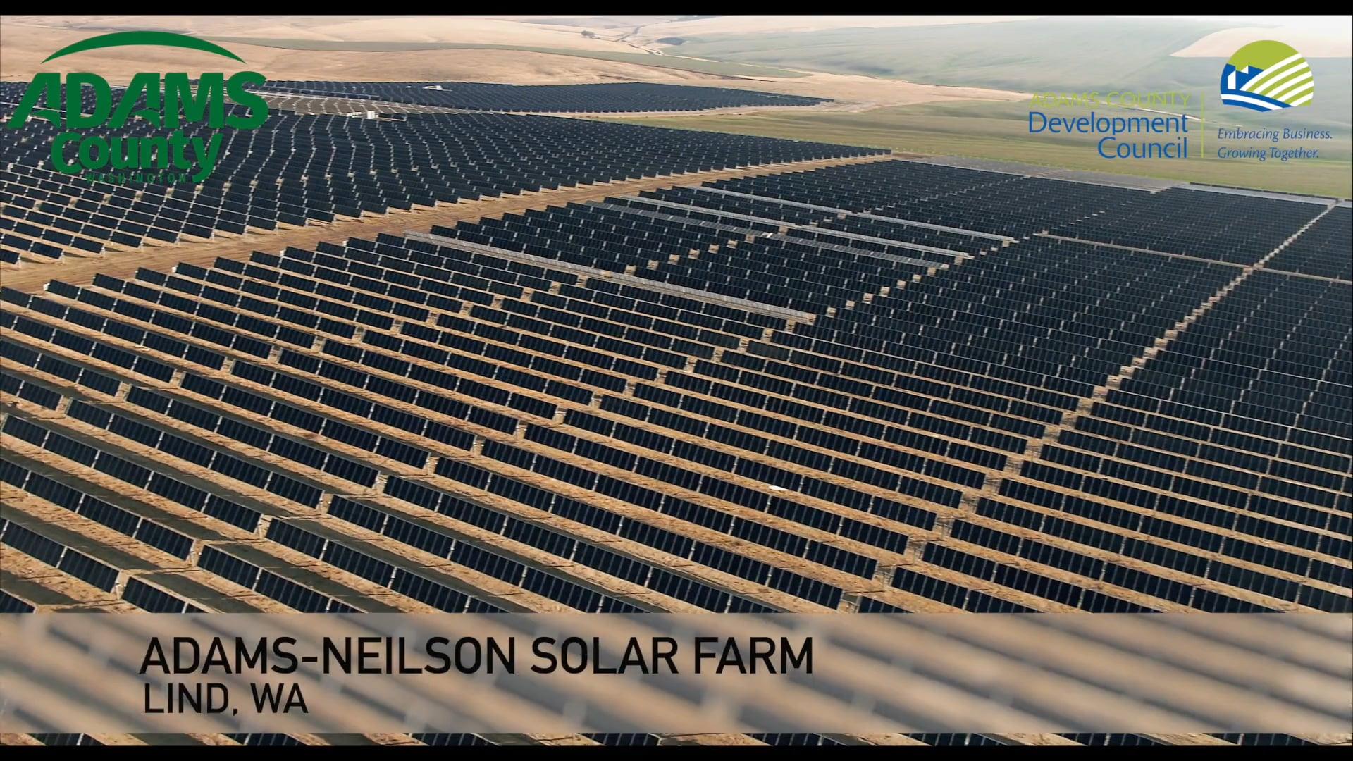 Adams-Neilson Solar Farm __ Lind, WA