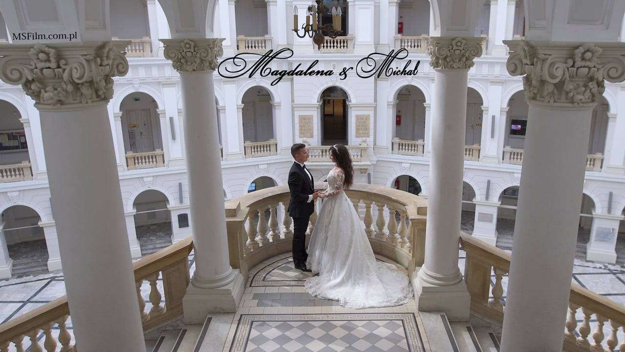 Magdalena i Michał | Kinowy teledysk ślubny
