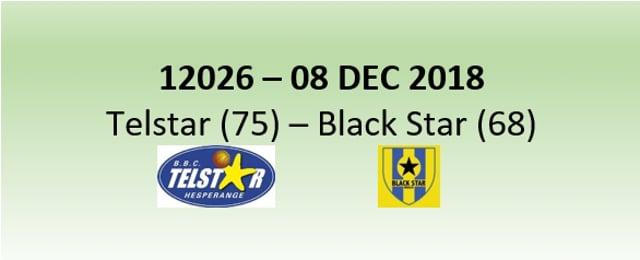 N2H 12026 Telstar Hesperange (75) - Black Star Mersch (68) 08/12/2018