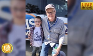 Jim Mann Gets Special Gift From His Fan Club President