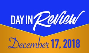 HIS Morning Crew Day in Review: Mon, December 10, 2017
