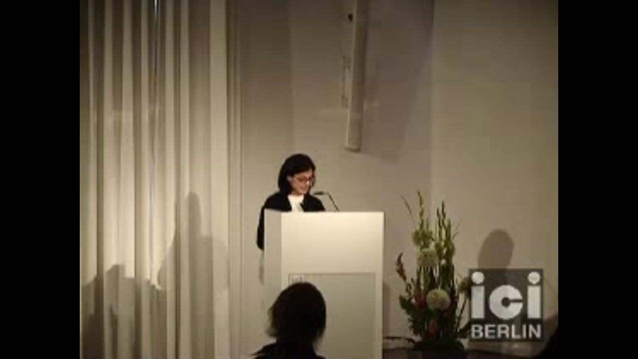 Talk by Fatima Naqvi / 1