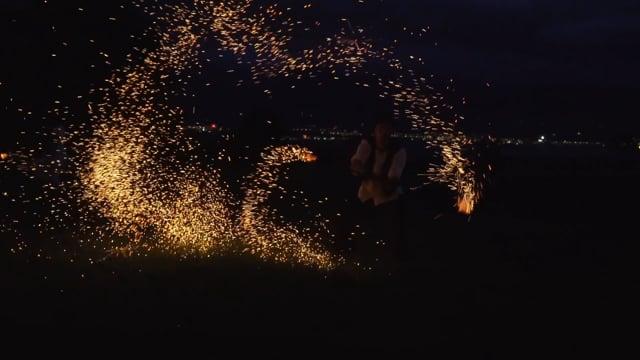 poetische Feuershow  video preview