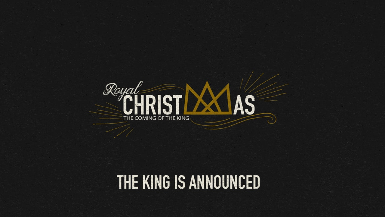 The King Is Announced [Parry Sound]