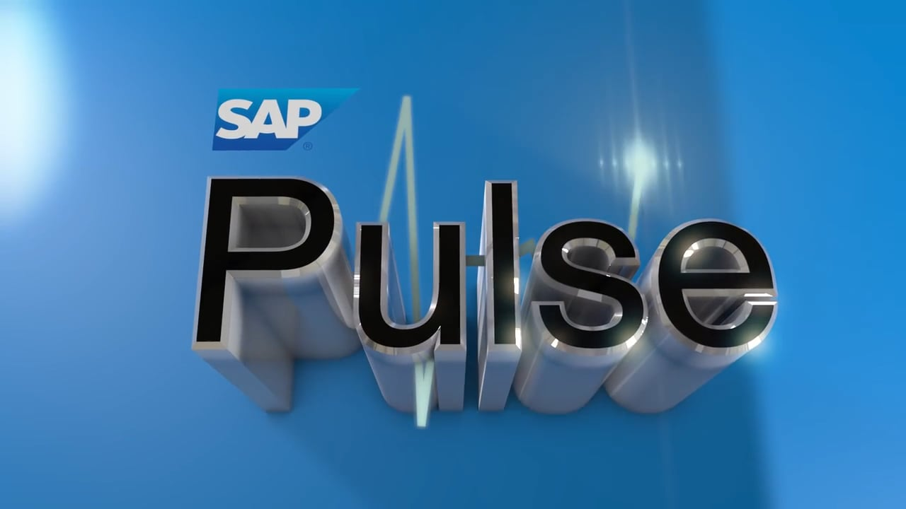 SAP'S THE PULSE- Principle DOP for interviews and b-roll 2017