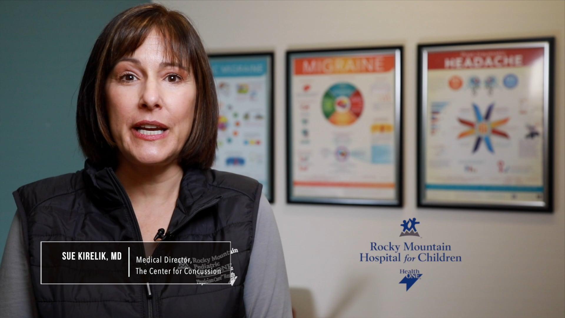 Dr. Sue Kirelik Concussion