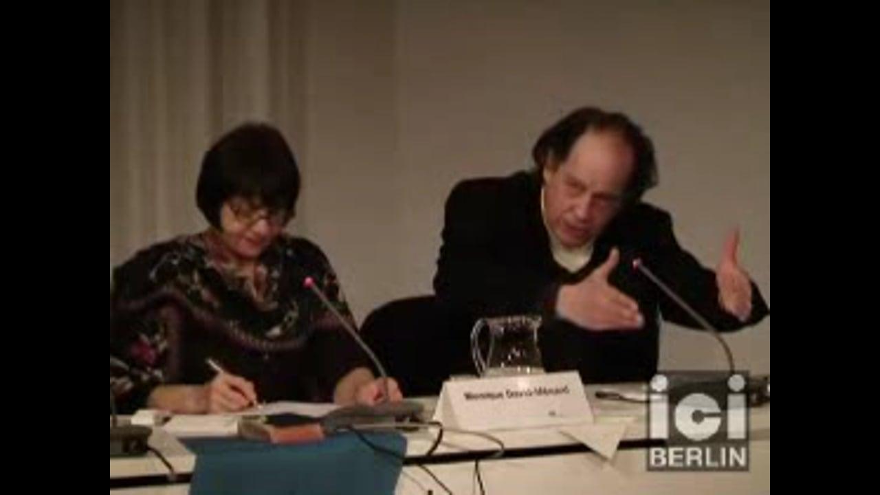 Talk by Jean Claude Ameisen / 1