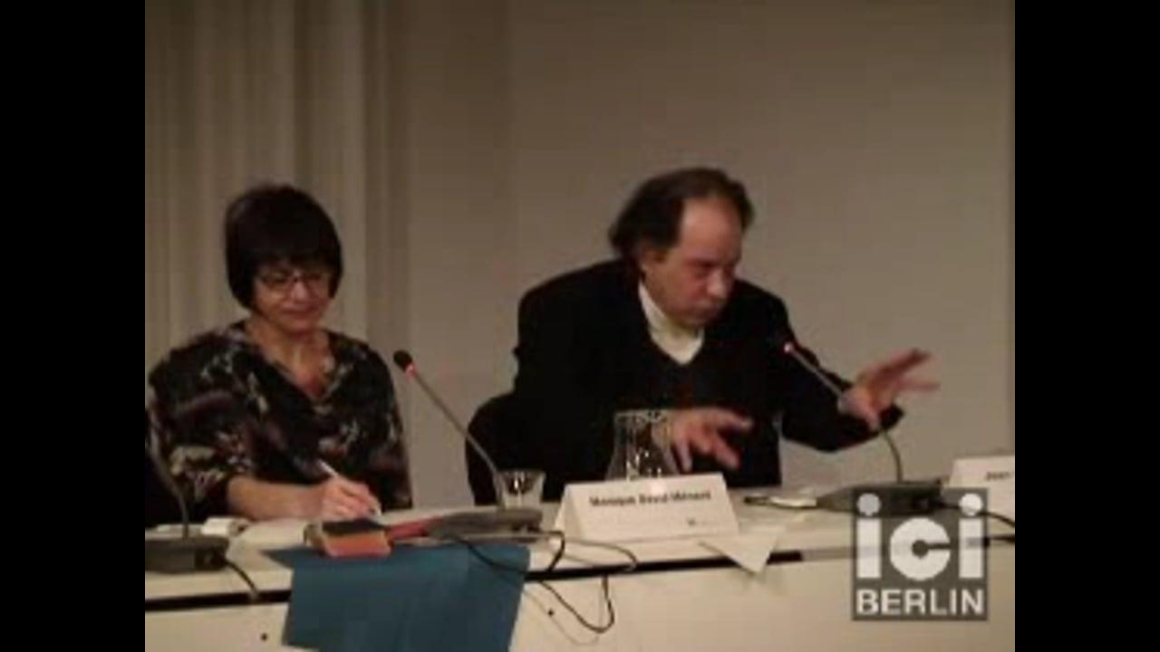 Talk by Jean Claude Ameisen / 2