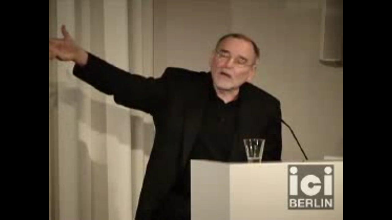 Talk by Jürgen Trabant / 2