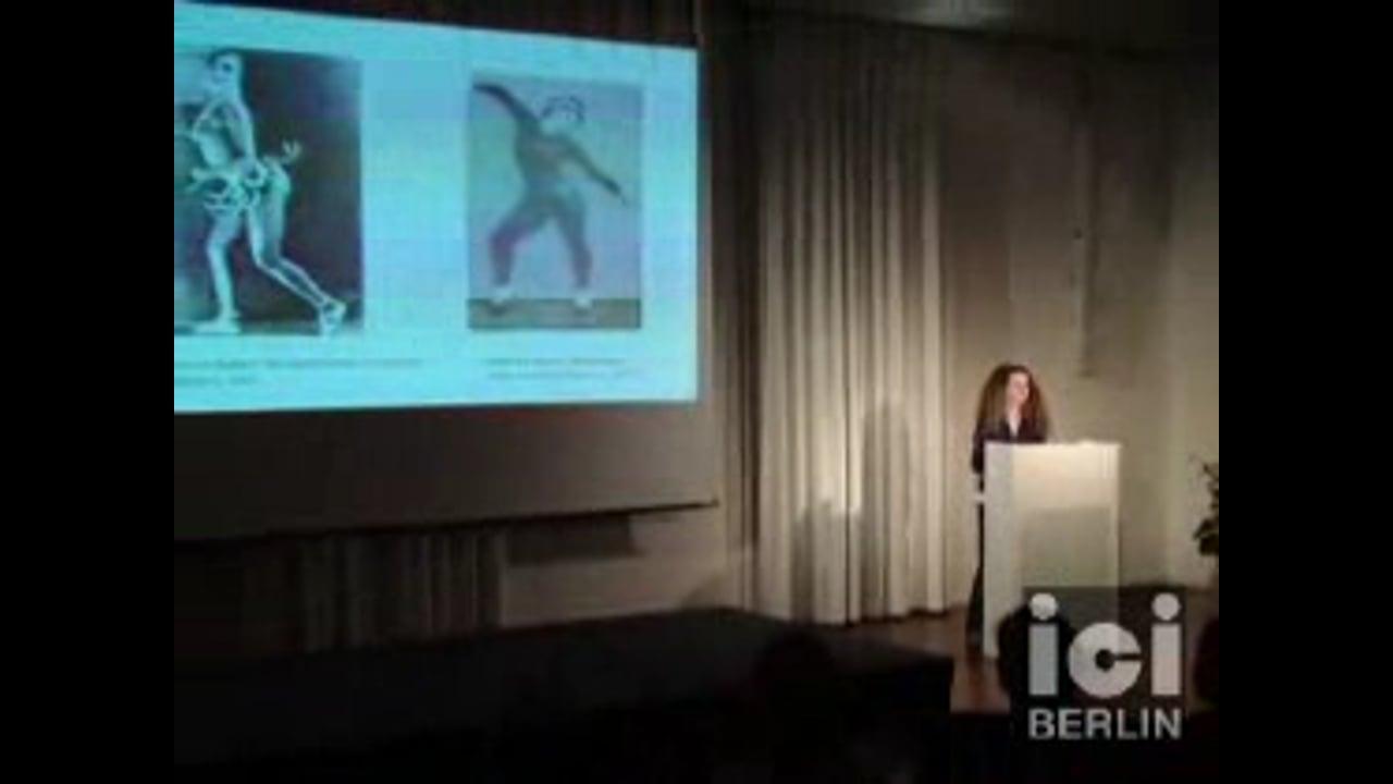 Talk by Susanne Foellmer / 2