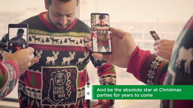 Augmented Ugly Christmas sweater