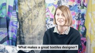 BA (Hons) Textiles