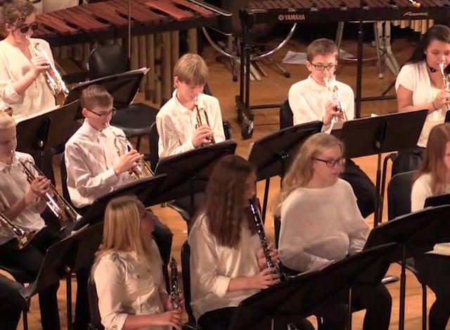 Virginia Public Schools Winter Band Concert 2018